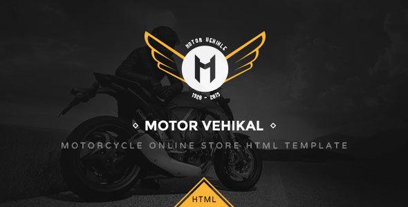 Motor Vehikal – Motorcycle Online Store HTML Template