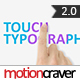 Touch Typography - VideoHive Item for Sale
