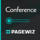 Conference - Pagewiz Landing Page - ThemeForest Item for Sale