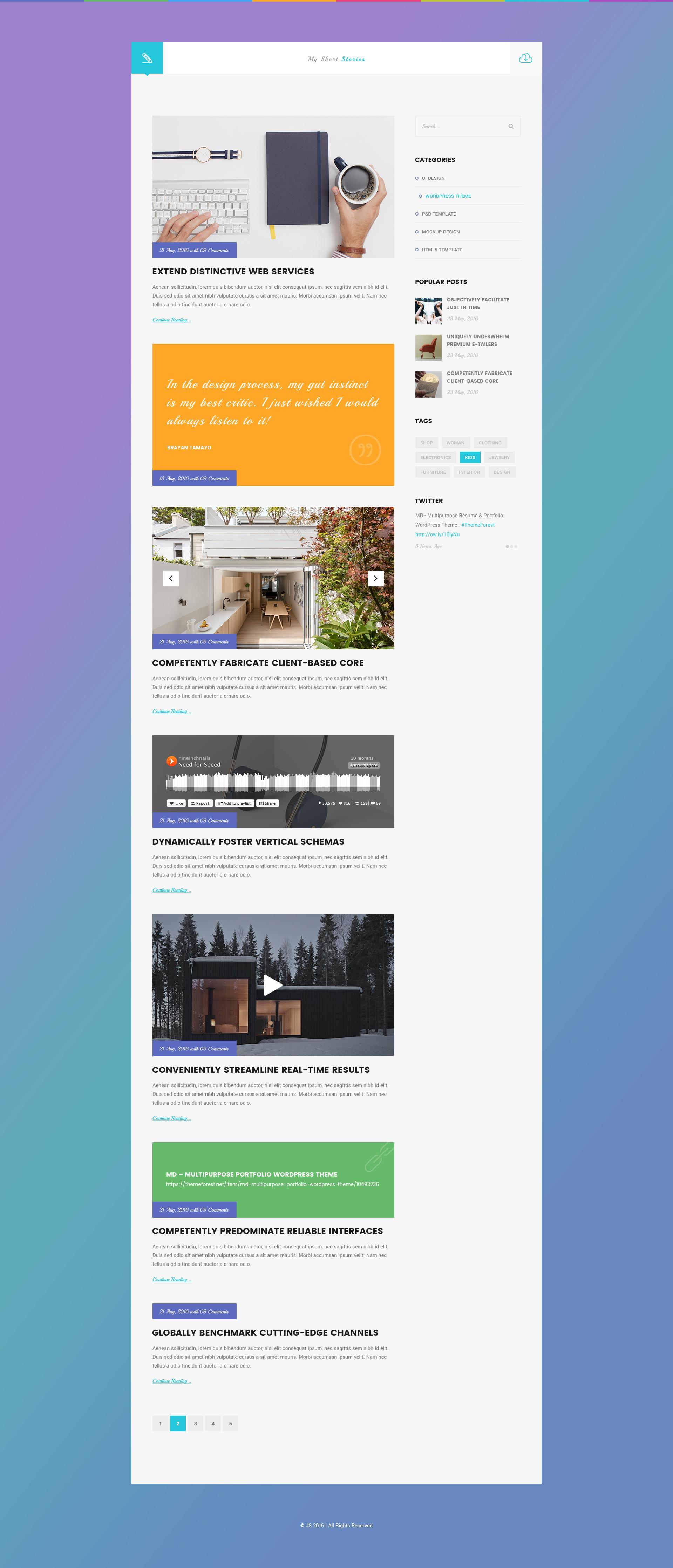 js creative vcard resume portfolio psd template by metrothemes