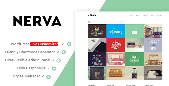 Nerva - Premium Minimal WordPress Theme