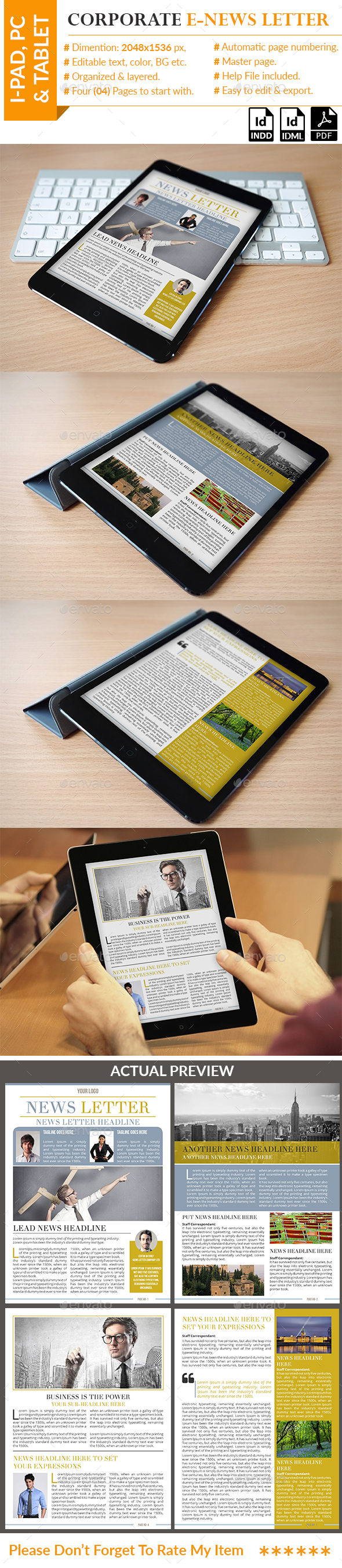 Corporate E-News letter - ePublishing