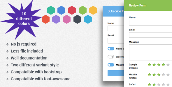 MK Form - Flat Bootstrap Forms - CodeCanyon Item for Sale