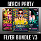 Beach Party Flyer Bundle V3 - GraphicRiver Item for Sale