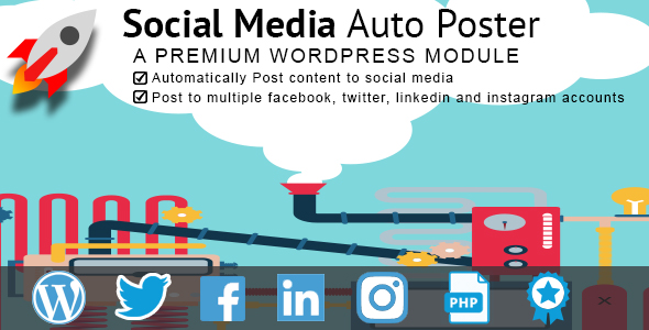 Social Media Auto poster - CodeCanyon Item for Sale