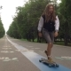 Cool Guy On His Longboard Skate - VideoHive Item for Sale