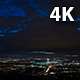 San Fernando Valley at Dusk, Los Angeles - VideoHive Item for Sale