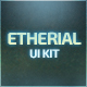 Etherial UI Kit - GraphicRiver Item for Sale