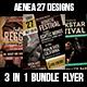 3 in 1 Remix Acoustic Flyer Bundle