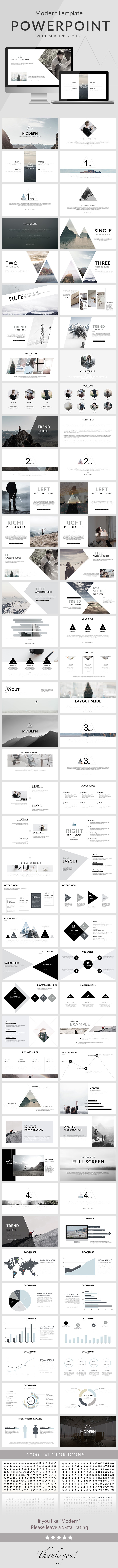 Modern - Powerpoint Template - Creative PowerPoint Templates