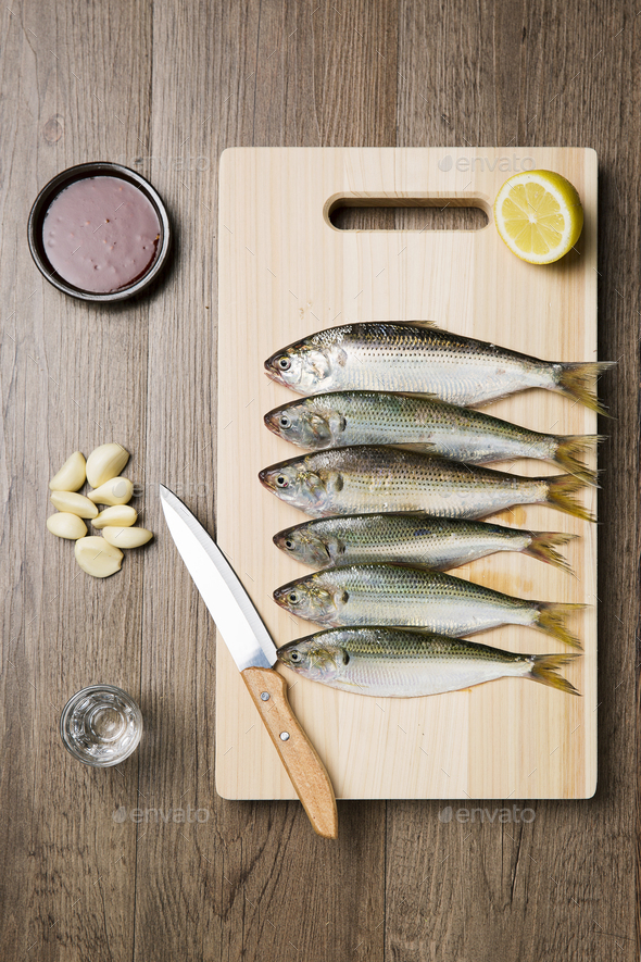 Seafood and Fish - Stock Photo - Images