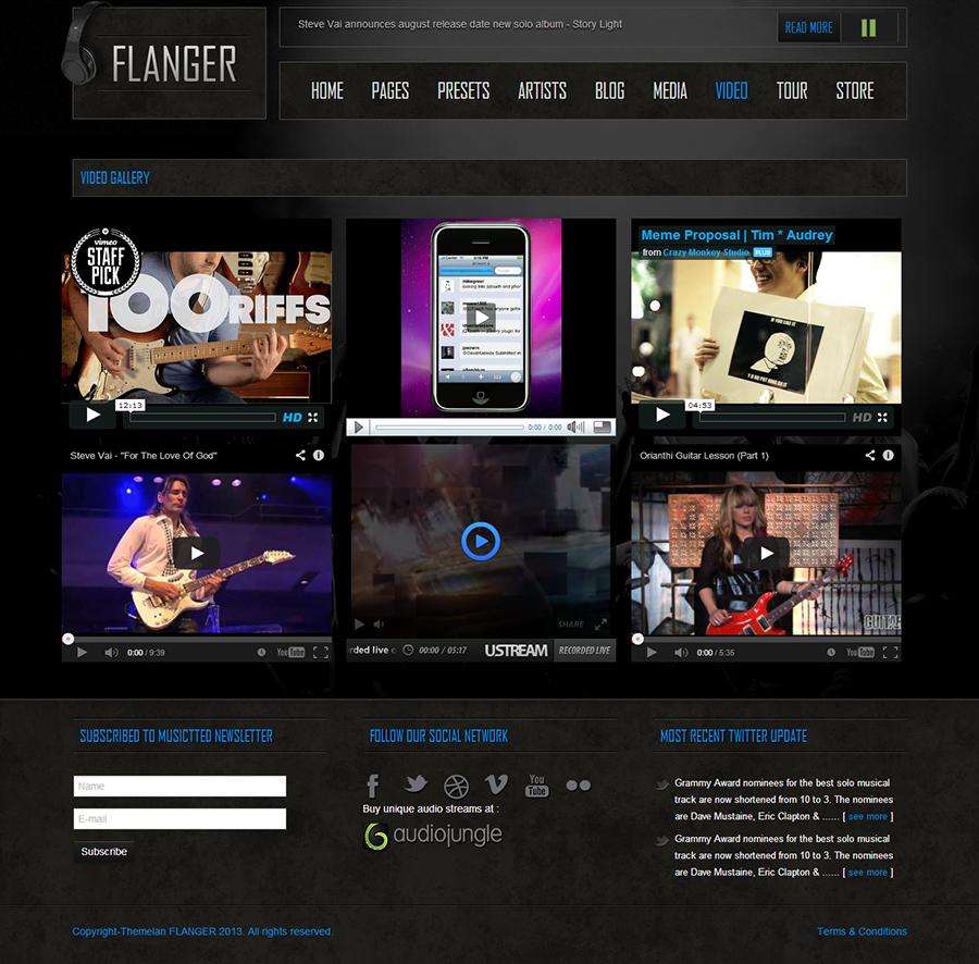 Erfreut Joomla Video Gallery Template Bilder - Beispiel ...