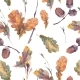 Autumn Watercolor Vintage Seamless Pattern - GraphicRiver Item for Sale