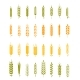 Set of Simple and Stylish Wheat - GraphicRiver Item for Sale