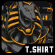 Anubis Warrior T-Shirt Design - GraphicRiver Item for Sale