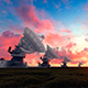 Astronomical Observatories At Sunset - VideoHive Item for Sale