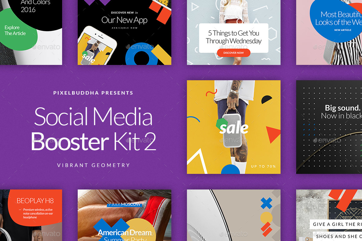 Social Media Booster Kit 2: Instagram, Twitter & Facebook ...