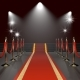 Red Carpet With Red Ropes - GraphicRiver Item for Sale