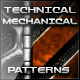 45 Mechanical Technical Mesh Patterns - GraphicRiver Item for Sale