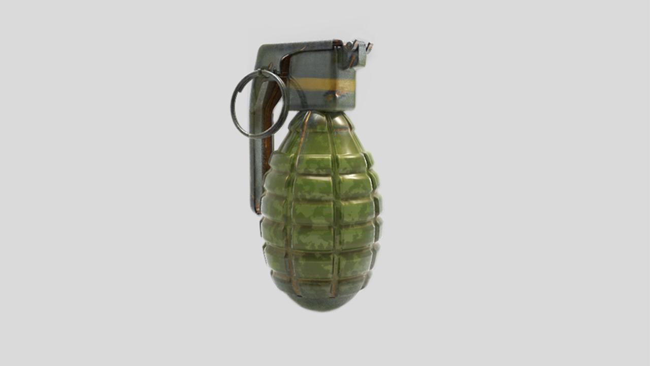 grenade by kubilaykodal 3docean. Black Bedroom Furniture Sets. Home Design Ideas
