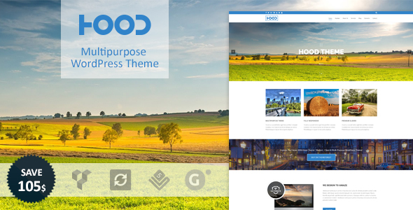 Hood | Multi-Purpose WordPress Theme