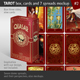 Tarot Box, Cards and 7 Spreads Mockup, Serial nr02. - GraphicRiver Item for Sale