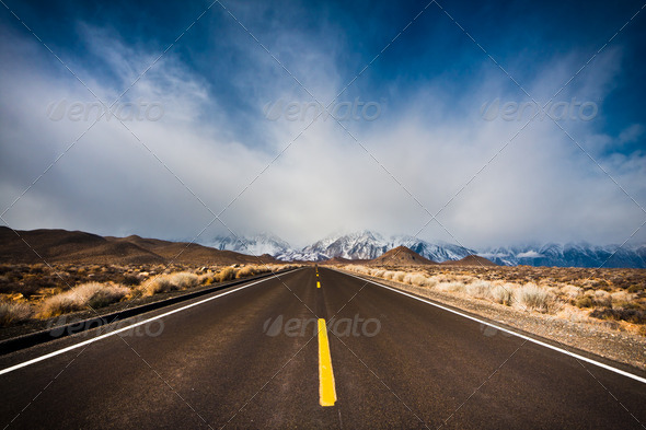 Mountain Road - Stock Photo - Images