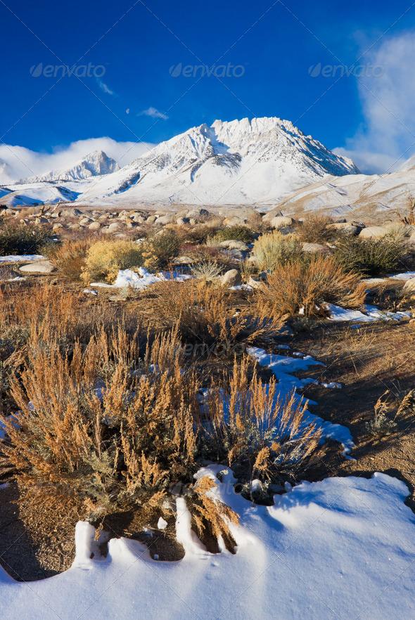 Mountain Sunrise - Stock Photo - Images
