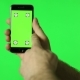 Smartphone Touchscreen Tap, Swipe And Spread Hand Gestures On Green Screen - VideoHive Item for Sale