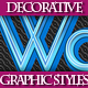 Set of Beautiful Bright Graphic Styles for Design - GraphicRiver Item for Sale