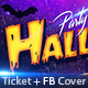 Halloween Facebook Cover + Ticket Templates - GraphicRiver Item for Sale