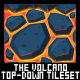 The Volcano - Top Down Tileset - GraphicRiver Item for Sale
