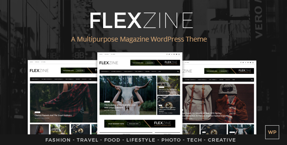 FlexZine – Modern Responsive News / Magazine WordPress Blog Theme