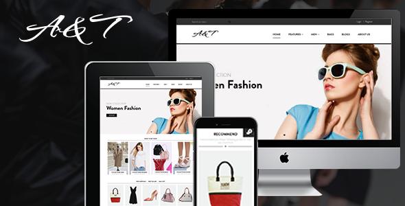 A&T – Responsive Shopify Theme