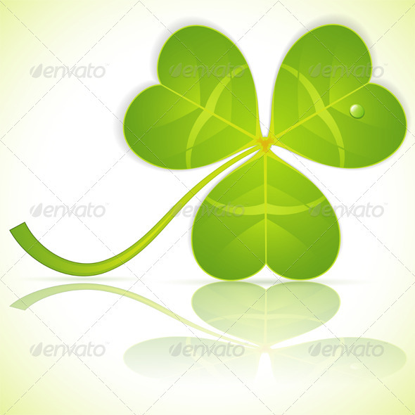 Leaf Clover on St. Patrick's Day - Miscellaneous Seasons/Holidays