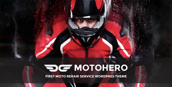 MotoHero - Motorcycle Repair & Custom service Business Theme