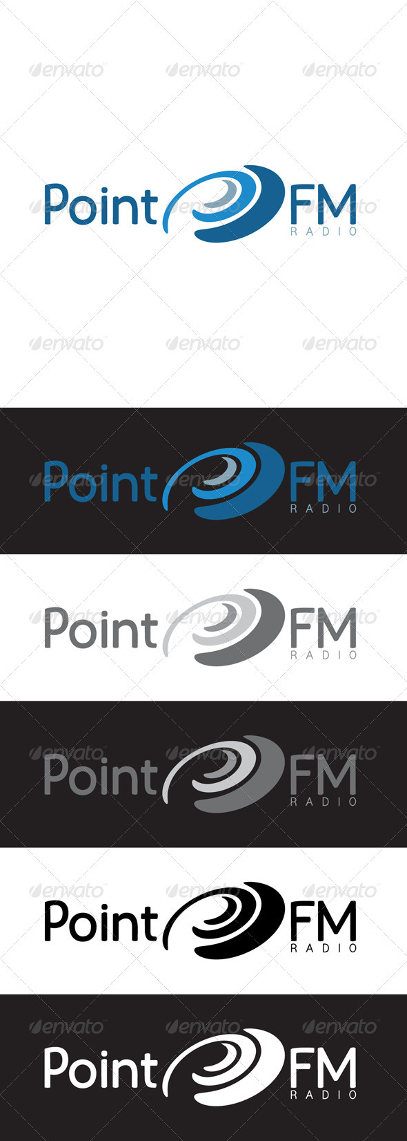 Radio Logo Template - Abstract Logo Templates