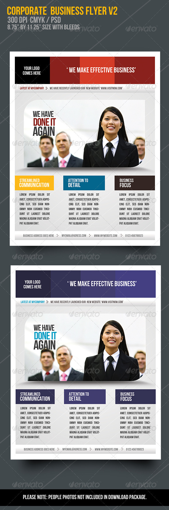 Corporate Business Flyer V2  - Corporate Flyers