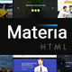 Materia - Consortium Multiuse Pack HTML5 & CSS3 Template - ThemeForest Item for Sale