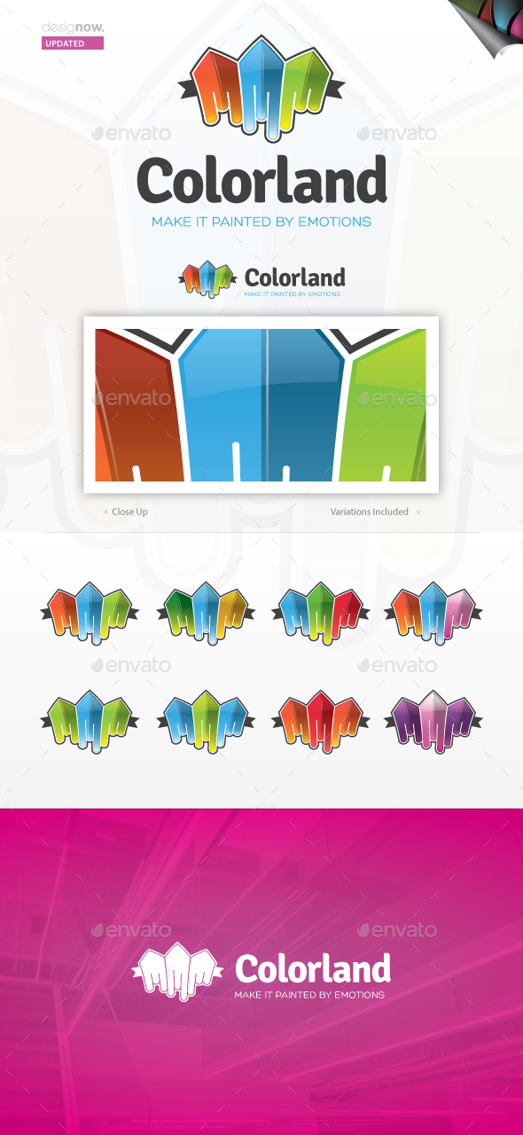 Color City Logo - Buildings Logo Templates