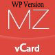 MilZinCard WordPress Responsive vCard Theme - ThemeForest Item for Sale