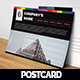 Corporate Postcard - Promotional - GraphicRiver Item for Sale