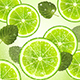 Background of Lime and Mint Leaves - GraphicRiver Item for Sale
