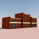 Low Poly Buildings 003 - 3DOcean Item for Sale