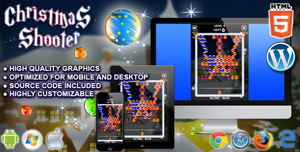 Download Sourcode              Christmas Shooter - HTML5 Game nulled version
