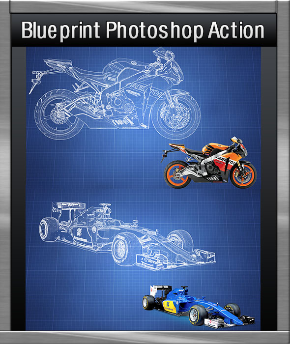 Blueprint photoshop action by simna graphicriver image and video hosting by tinypic malvernweather Image collections