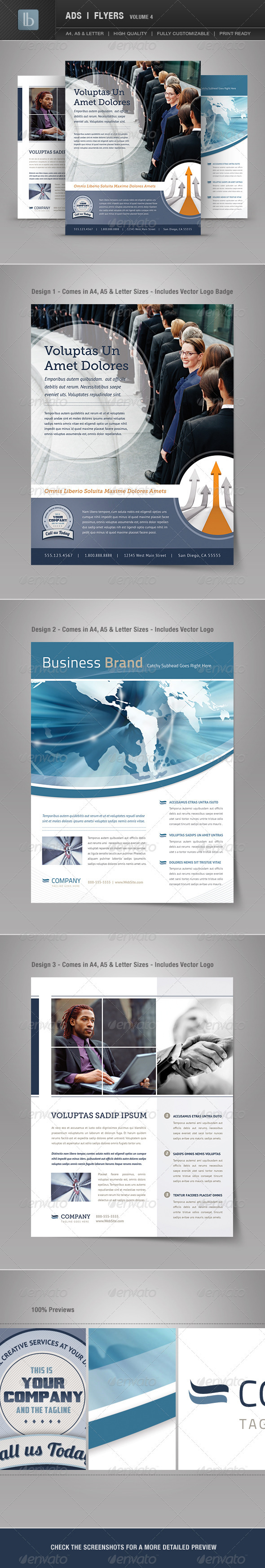 Ads | Business Flyers | Volume 4 - Corporate Flyers