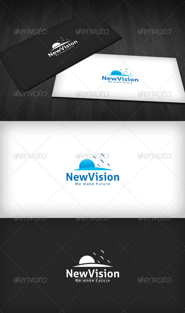 New Vision Logo - Nature Logo Templates