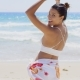 Playful Young Woman Dancing On The Beach - VideoHive Item for Sale