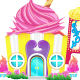 Cupcake House Shop - GraphicRiver Item for Sale